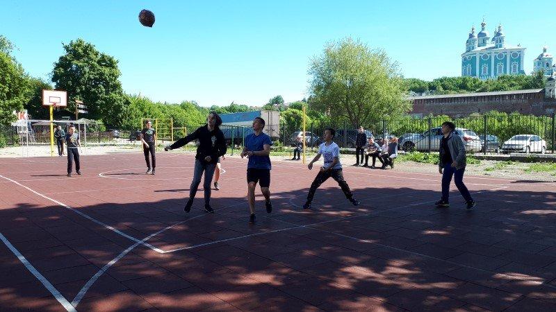 В Смоленской Православной гимназии состоялся турнир по футболу