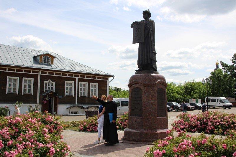 Телевизионная бригада «1-й канал» побывала в Смоленске
