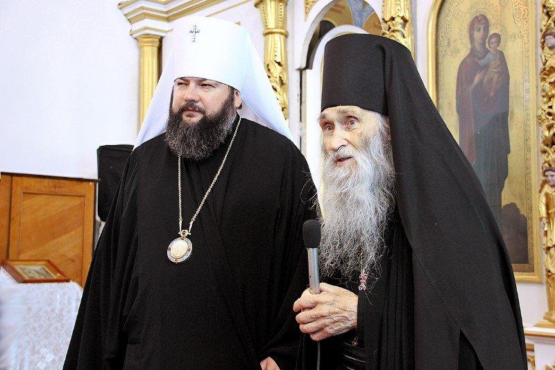Схиархимандрит Илий побеседовал с верующими Смоленщины
