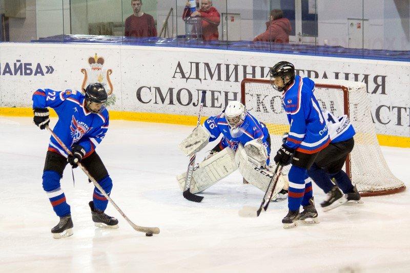 В Смоленске открыт Международный турнир по хоккею с шайбой среди молодежных команд
