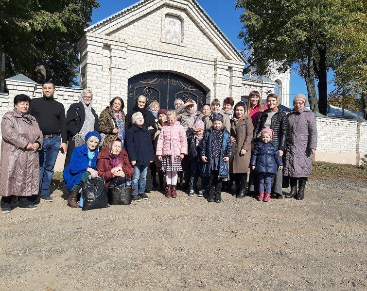 Паломничество прихожан храма прп. Иоанна Лествичника к святыням Дорогобужской земли