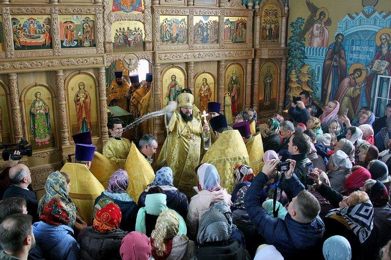 В Смоленской епархии освящен новый храм