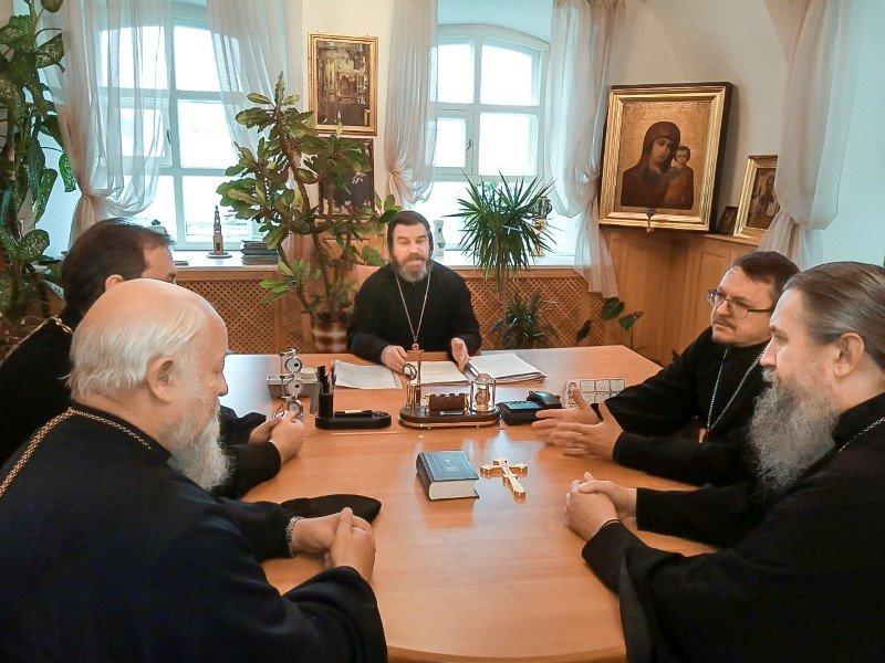 Заседание Церковного суда Смоленской епархии