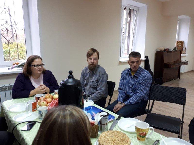 Встреча добровольцев службы «Милосердие» с психологом