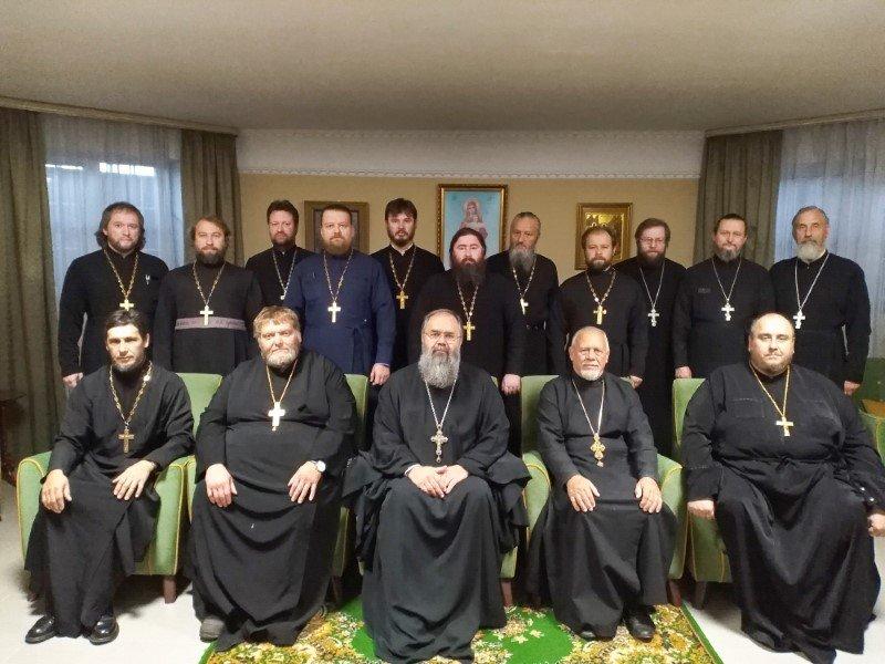 Собрание духовенства Ярцевского благочиния