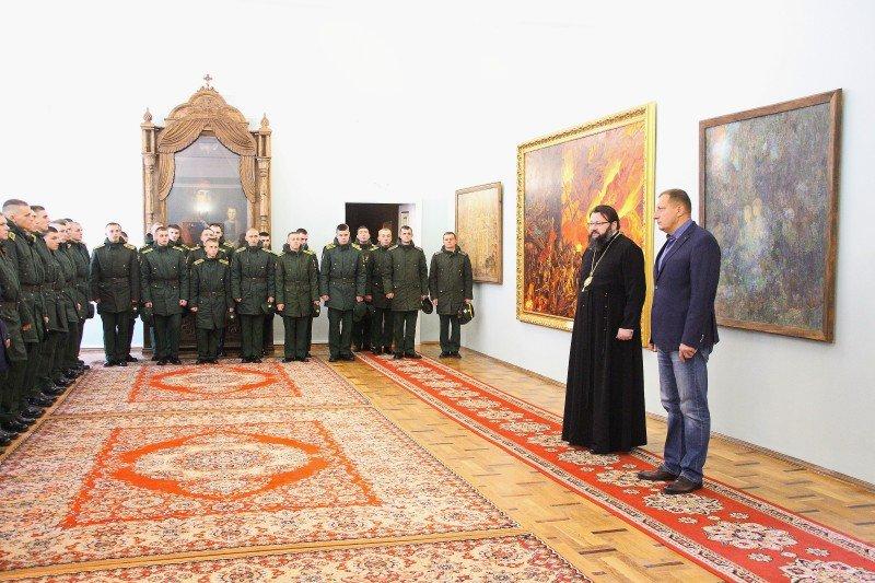 Встреча архипастыря с курсантами и офицерами Военной академии