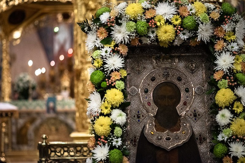 Митрополит Исидор принял участие в торжествах в Свято-Троицкой Сергиевой Лавре