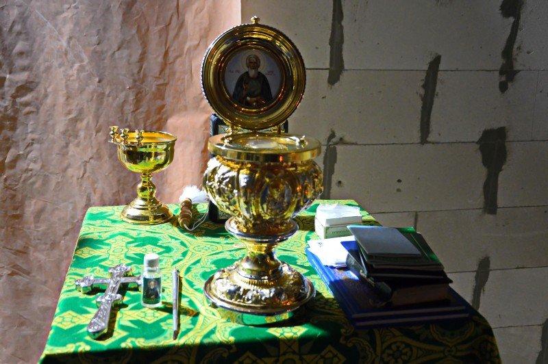 Архипастырь возглавил молебен с акафистом преподобному Сергию Радонежскому