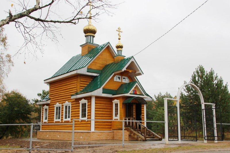 Митрополит Исидор освятил храм Архистратига Михаила в деревне Шапы