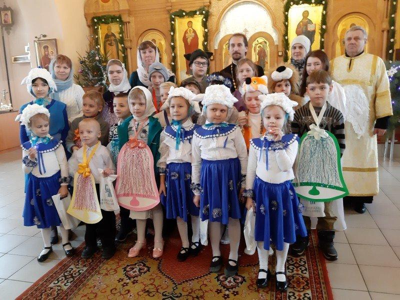 Рождественский утренник на Казанском приходе в Рудне