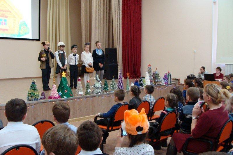 Рождественский концерт в велижской средней школе №1