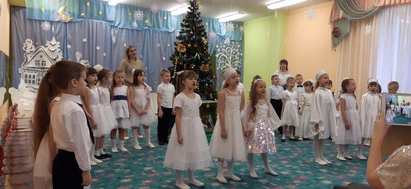 Рождественский утренник в Детском саду №78 «Исток» города Смоленска