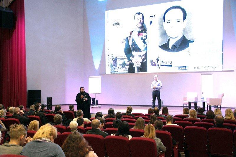 Известный историк и писатель Андрей Борисюк провел лекцию в Смоленске