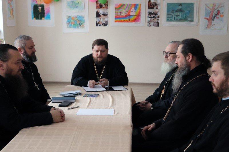 Состоялось собрание духовенства Петропавловского благочиния