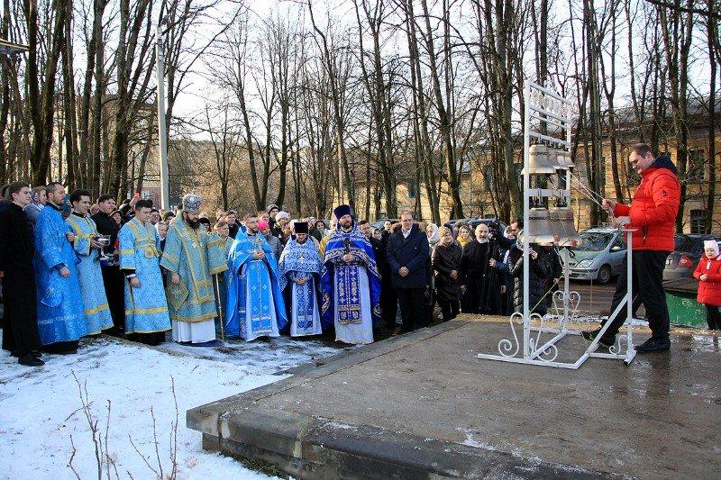 В праздник Сретения Господня архипастырь возглавил торжества в храме Воскресения Словущего