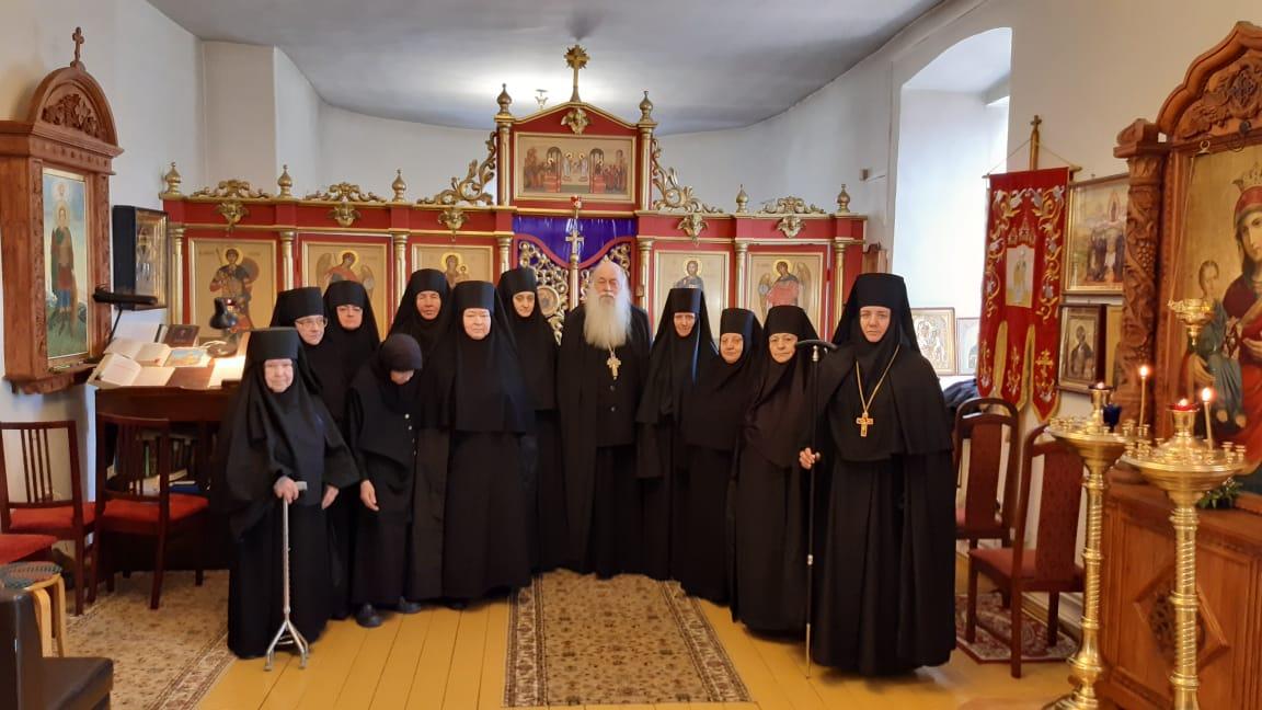 Монашеский постриг в женском монастыре в честь святого великомученика Димитрия Солунского