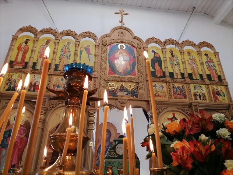В храме в честь святого преподобного Иоанна Лествичника  отметили Престольный Праздник