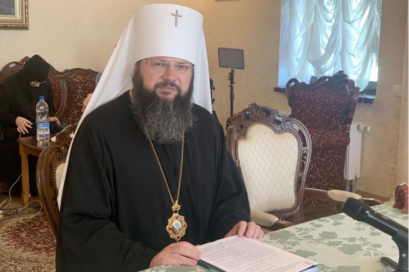 Митрополит Исидор принял участие в секции «Древние монашеские традиции в условиях современности» XXIX Международных образовательных чтений