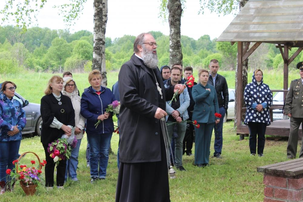 «Без срока давности» митинг д. Гуторово Ярцевского района